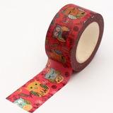 Fita Adesiva Decotape Washi Tape Pequena Corujas
