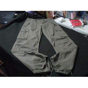 Pantalon Cargo Sport De Mujer Crazy World Talla W32 L32