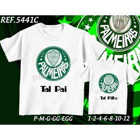 Camiseta Tal Pai Tal Filho Palmeira Tamanho U - Camisetas Manga ... 04b00ad8c6d0d