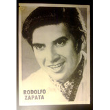 Rodolfo Zapata - Postal Promocional Del Sello Music Hall