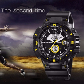 Relógio Masculino Militar Alike Analógico Digital Original