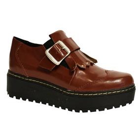 52710959994 Mocasines Mujer Plataforma - Zapatos Bordó en Mercado Libre Argentina