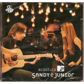 Cd Sandy E Junior - Acústico Mtv - Novo***