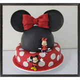 Torta Minnie Mouse 30 Personas