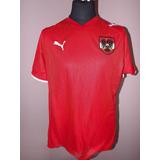Camisa Austria Puma Euro 2008 2009 Suica D Jogo Dupla Camada 057954e78529a