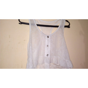 Mini Blusa Branca