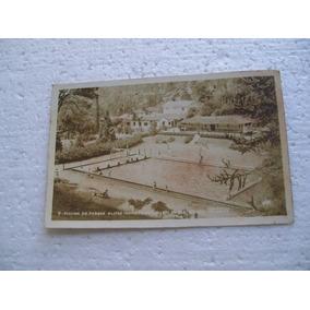 Cartão Postal - Piscina Do Parque Olifas - Nova Friburgo
