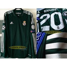 Real Madrid 12-13 (formotion) Manga Larga Higuain  20 6f71f1ff39122