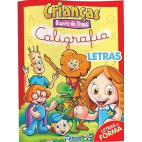 Kit 2 Livros De Caligrafia Crianças Diante Do Trono