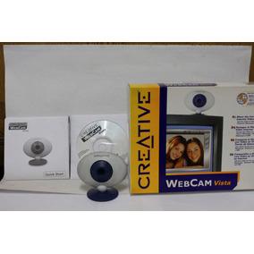 Webcam Vista Creative Pc Raro