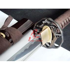 Katana Samurai Afiada Com Corte Espada Aço Carbono 1060