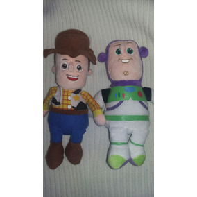 Toy Story Muñecos Woody Y Buzz Peluches Ideal Chiquitos !! - Muñecos ... 56670f112fc