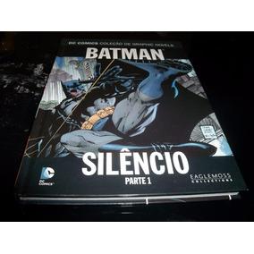 (((revista))) Batman Silêncio Parte 1 De 2 Eaglemoss Dc
