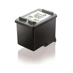 Cartucho De Tinta Hp 901 Colorido Compativel Multilaser
