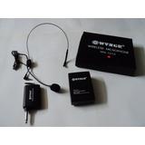 Micrófono Inalambrico De Cintillo 25mts + Envio Gratis