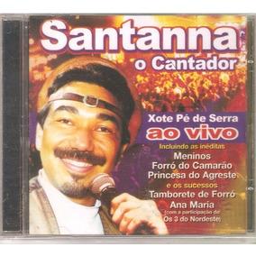 cd de santanna o cantador ao vivo