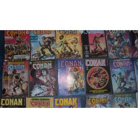 Conan - A Espada Selvagem De Conan - Coleçâo/lote 80 Un.