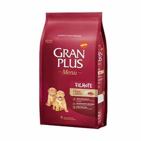 Alimento Gran Plus Cães Filhotes Carne E Arroz Menu - 15kg