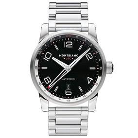18d9e3c8033 Relógio Montblanc 109135 Timewalker Automatico Original