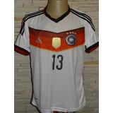 Alemanha Campeã 2014 Camisa Alemanha 4 Estrelas Patch Copa - Futebol ... e833c2de943ef