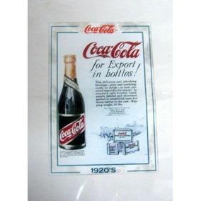 Cartaz Antigo Coca Cola - 35x20