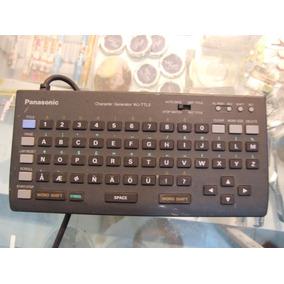 Generador De Caracteres Panasonic Wj-ttl5