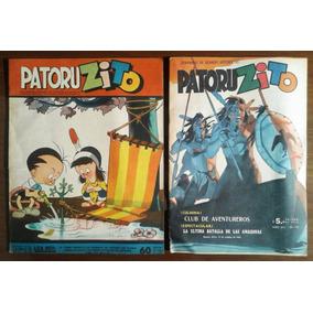 Patoruzito Semanario De Historietas X 2 1951-1960-lote De 2