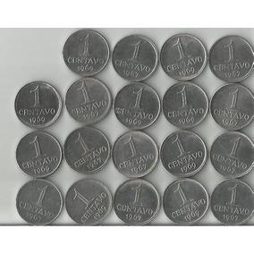 19 Moedas De 1 Centavos No Valor De 30,00 Reais