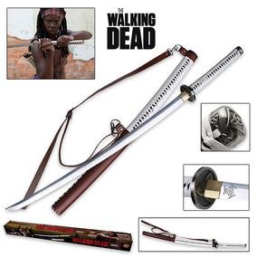 Katana The Walking Dead Original Amc Con Certificado Espadas