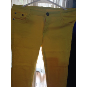 Jeans Amarillo en Mercado Libre Argentina 55077f5042df