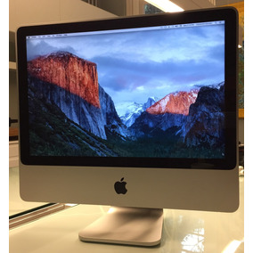 Imac Aluminium, Core 2 Duo 2 Ghz, 4gb Ram, 120hd, 20pol 2007