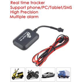 Kit/2 Rastreador Tracker Veiculo Gps Gprs Gsm Realtime Sms