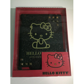 Capa Ipad 1 2 E 3 Hello Kitty Original Preta Spike