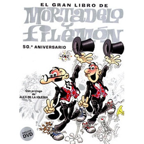 Grande Livro De Mortadelo E Salaminho 50º Aniversario + Dvd