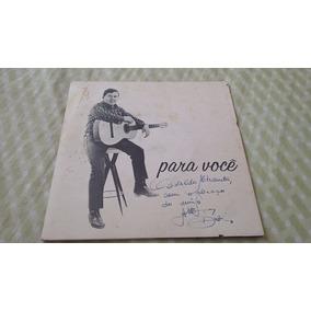 Compacto Altemar Dutra Para Voce Autografado Promociona 1968