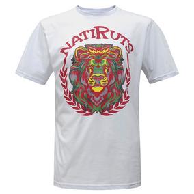 Camiseta Brasão Leão Branco