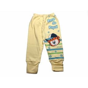 Mijão culote (calça) Pé Reversível Com Tigre Fera Do Papai · 2 cores 3ad1a41f852