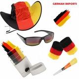 Kit Torcedor Da Alemanha Futebol ¿ Óculos Chapéu Tinta Apito 95a8343893