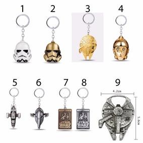 Chaveiros Star Wars De Metal Alta Qualidade - Importado