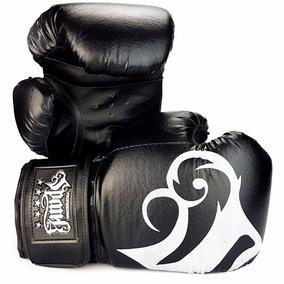 Luva De Boxe E Muay Thai Spank Preta