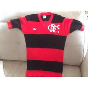 Camisa Do Flamengo 1982 / adidas -tecido: Tela Furadinha