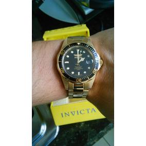 806bb2d4982 Relógio Invicta Ouro 24k Lindo - Relógios De Pulso no Mercado Livre ...