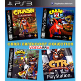 Crash Bandicoot Collection - Español Clasico Ps1 - Ps3 | Vgm