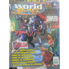 Detonado Zelda Ocarina Of Time - World Games N2 - Revista