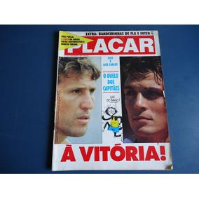 Placar 915 11 Dez 87 - Flamengo X Inter, Zico X Luiz Carlos