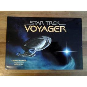 Star Trek Voyager Cartões De Telefone Edição Limitada