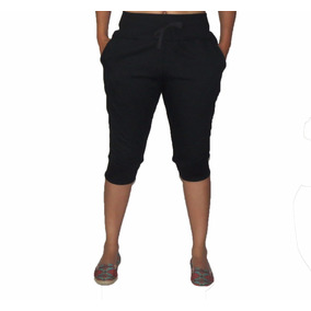 4719b40763 Bermuda Feminina Moletom Capri Calça Skinny Slim 3 4 Saruel