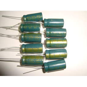 Capacitor Eletrolítico 3300uf X 6,3v - 105ºc