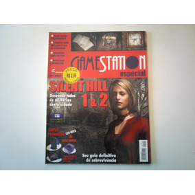 Revista Gamestation Silent Hill 1 E 2 Especial Frete Grati