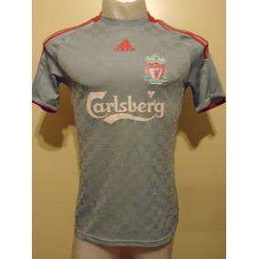 Camiseta Liverpool Inglaterra 2008 2009 Gerrard #8 Selección